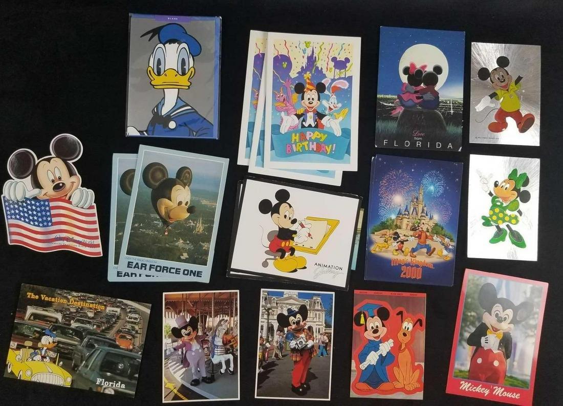 Lot of 19 Disney Vintage Greeting Cards Postcards