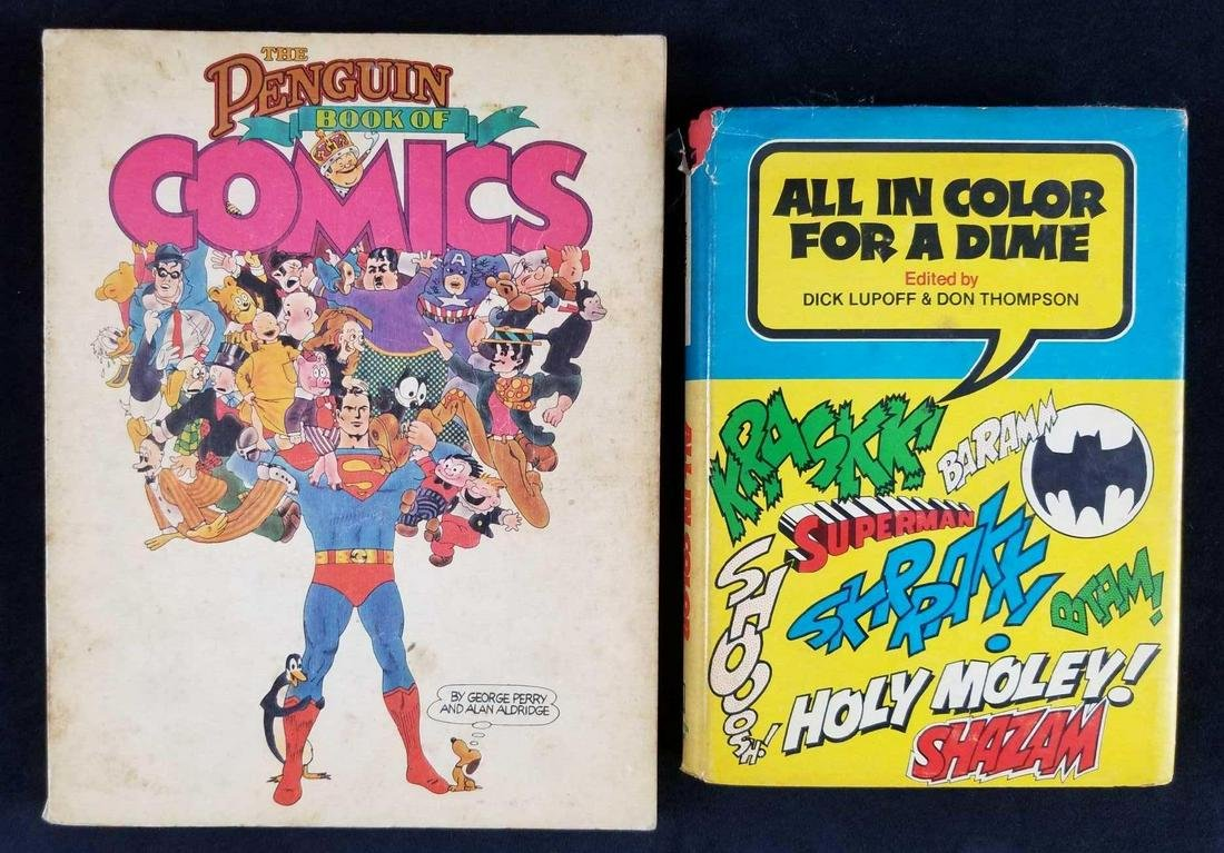 All In Color For A Dime Book by Dick Lupoff and Don