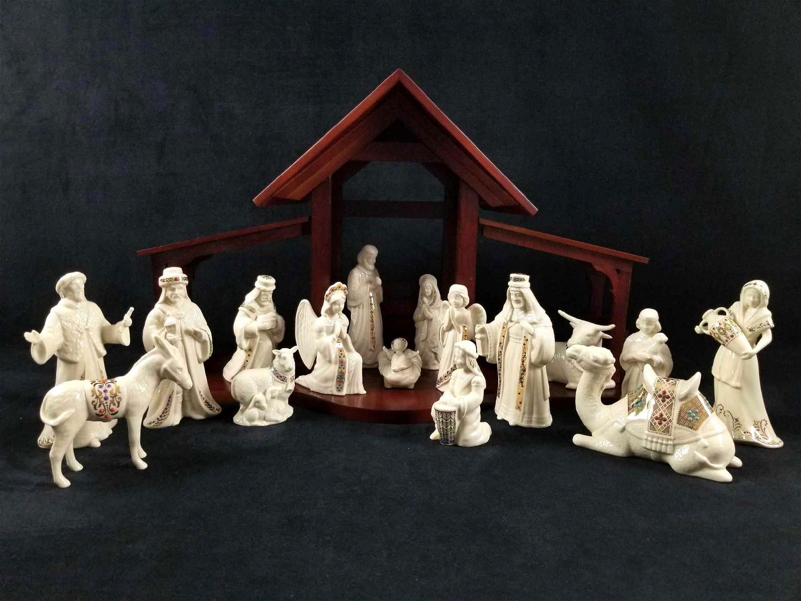1993 China Jewels First Blessing Nativity Scene by
