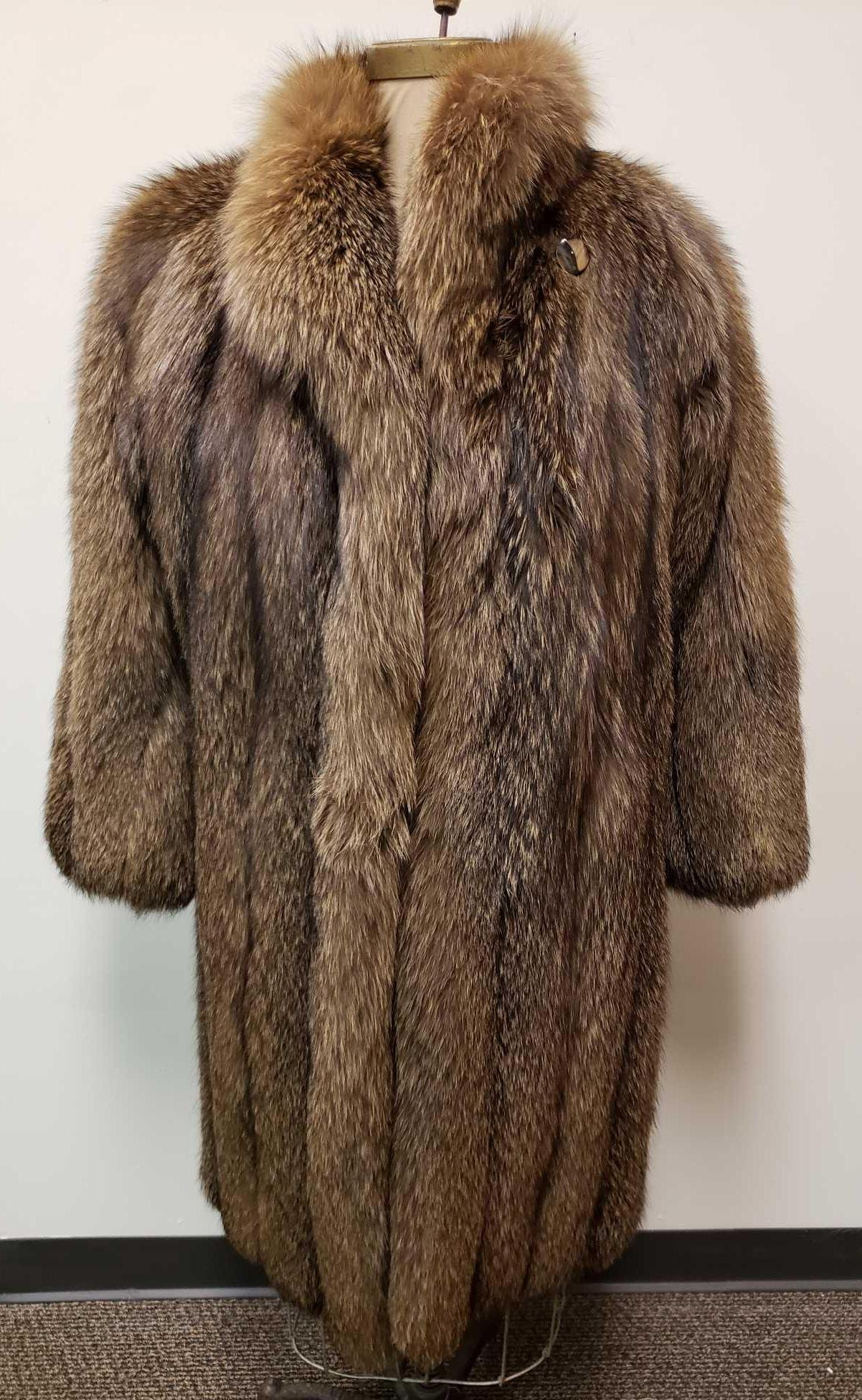 Goldin Feldman Tanuki Fur Coat