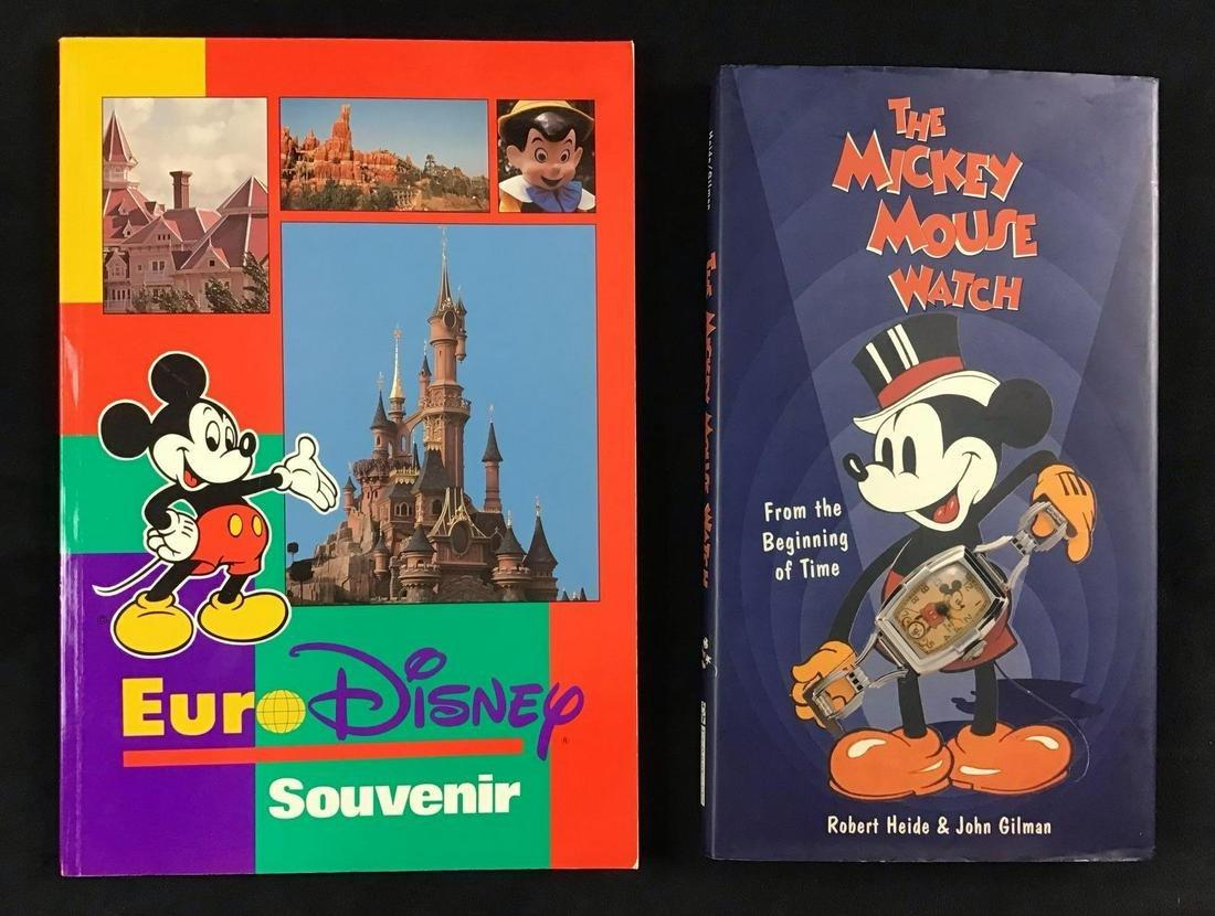 Lot of 2 Vintage Walt Disney Books