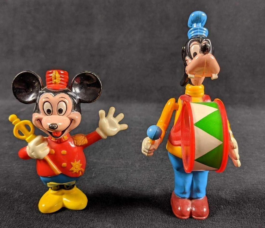 Vintage Disney Mickey And Goofy Figures