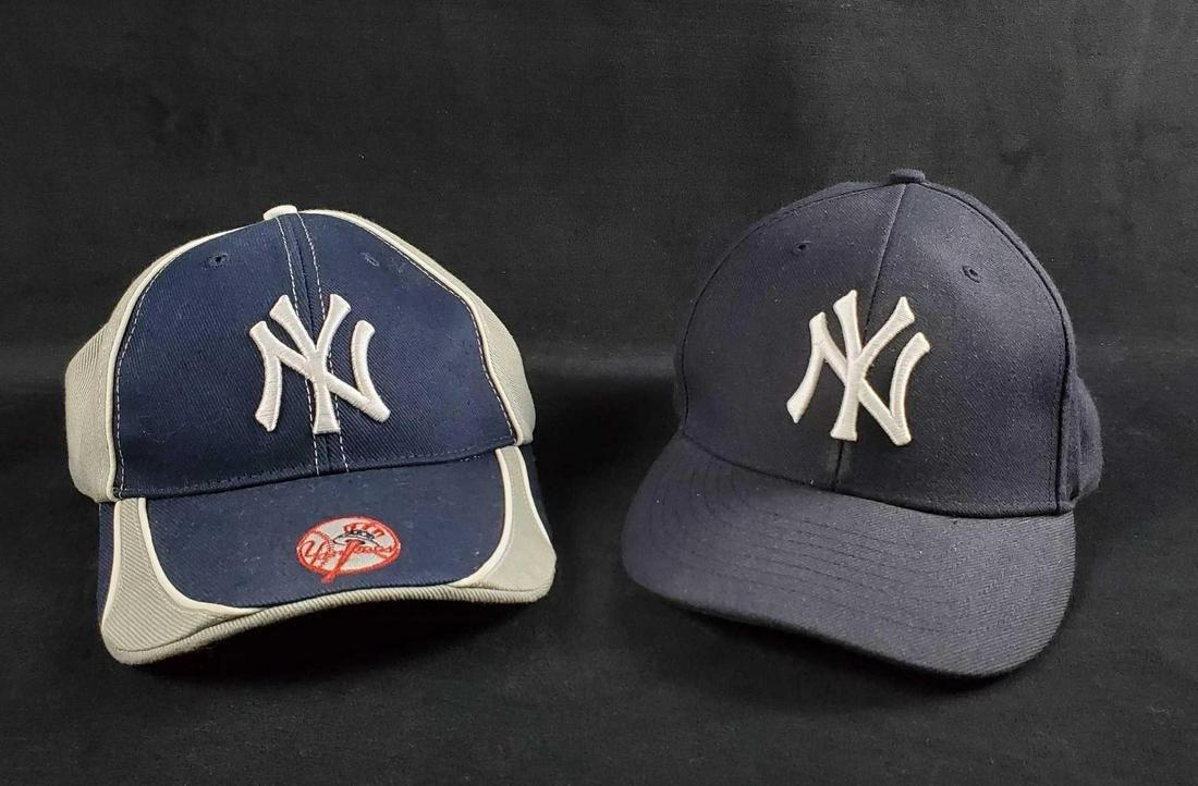 New York Yankees Baseball Cap Lot Of Two
