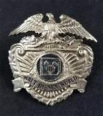 Vintage Early 1970s Disney Security Badge C
