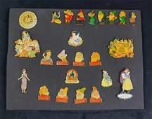 Disney Pin Collection Snow White Seven Dwarfs