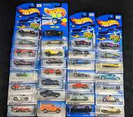 Hot Wheels Packaged Die Cast Cars Lot Of Thirty C
