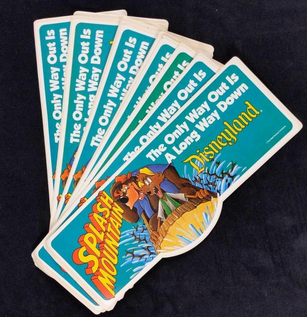 Vintage Splash Mountain Disney Bumper Sticker Opening Disneyland 1989 New