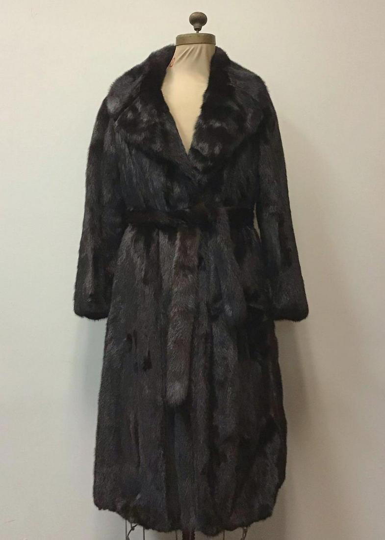 Ranch MInk Fur Coat Jacket Vintage Fashion