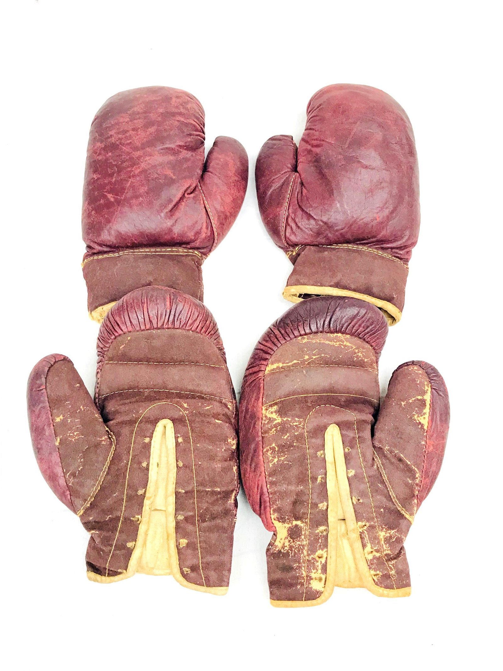 2 Vintage Pairs of Leather JC Higgins Youth Boxing
