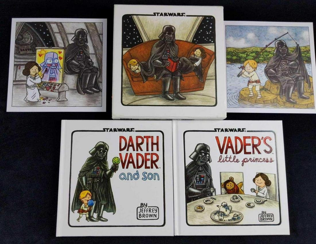 Star Wars Darth Vader And Son Deluxe Box Set
