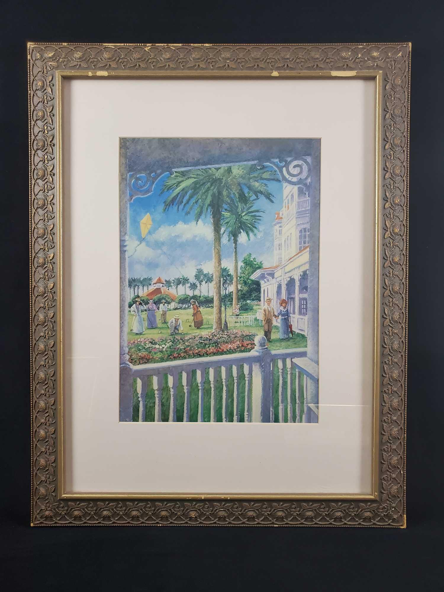 Framed Art Disney Grand Floridian Hotel