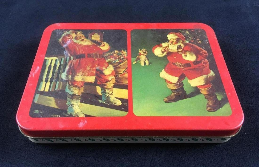 Nostalgia Coca Cola Santa Playing Cards from 1992