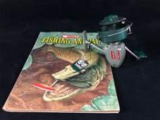 Vintage 1971 Garcia Fishing Annual Magazine & Heddon