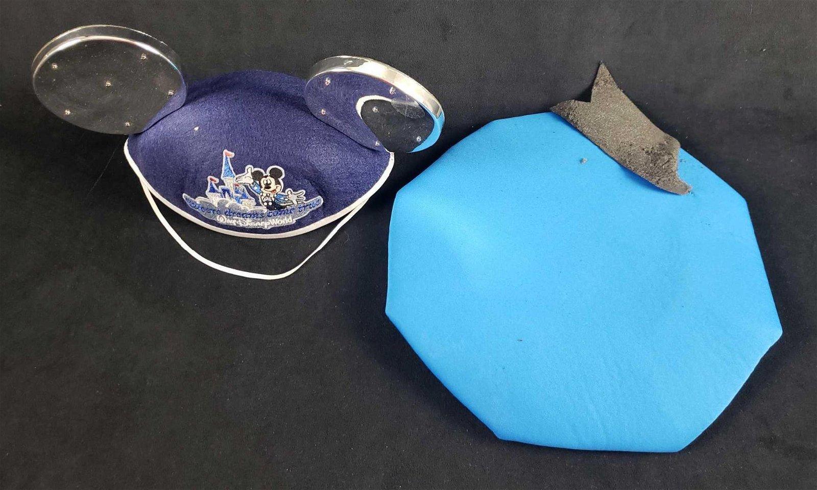 Two Vintage Walt Disney World Hats