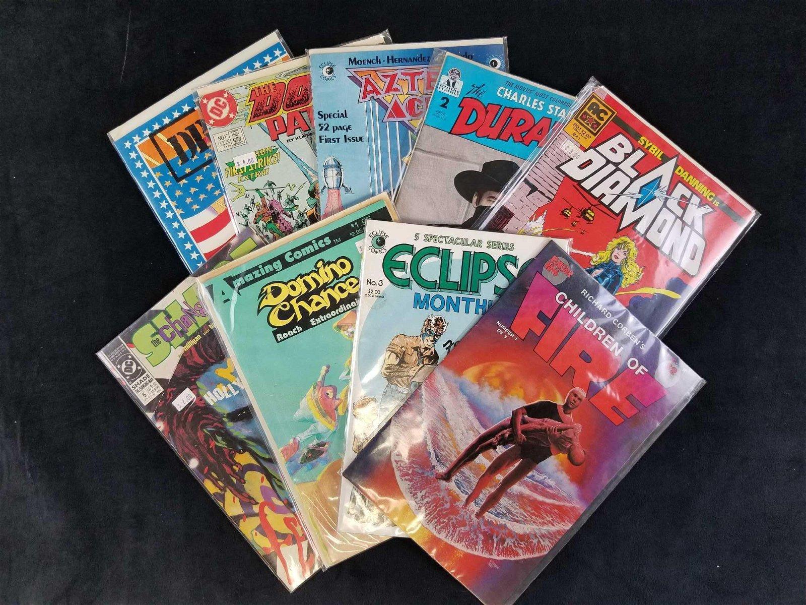 Lot of 9 Misc Comic Books