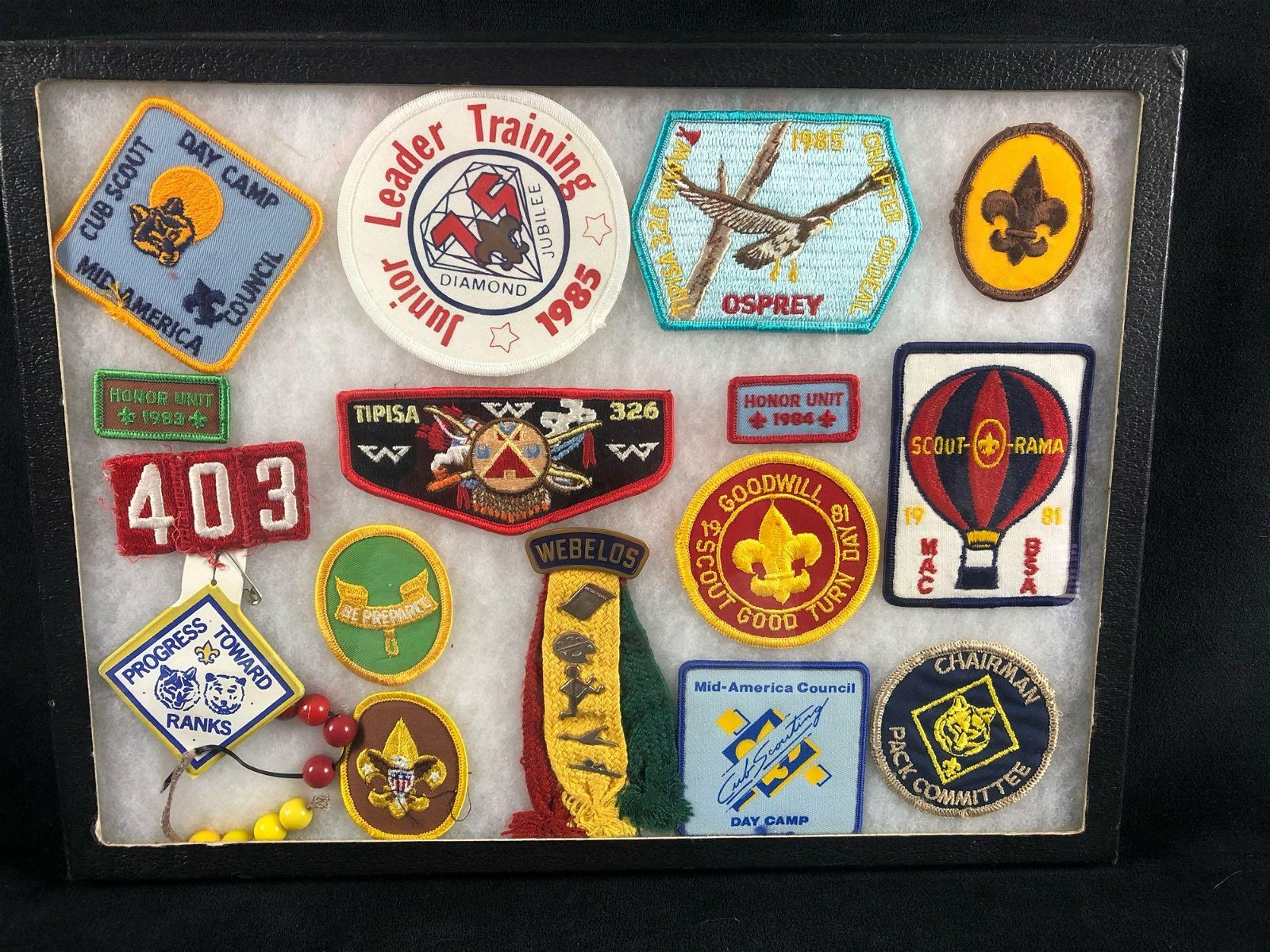 Vintage Vintage 1980's Boys Scouts Of America Lot Of 16