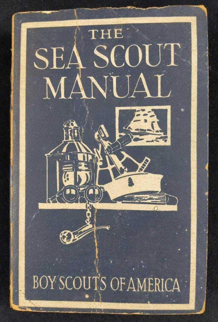 Vintage Boy Scouts Sea Scout Manual