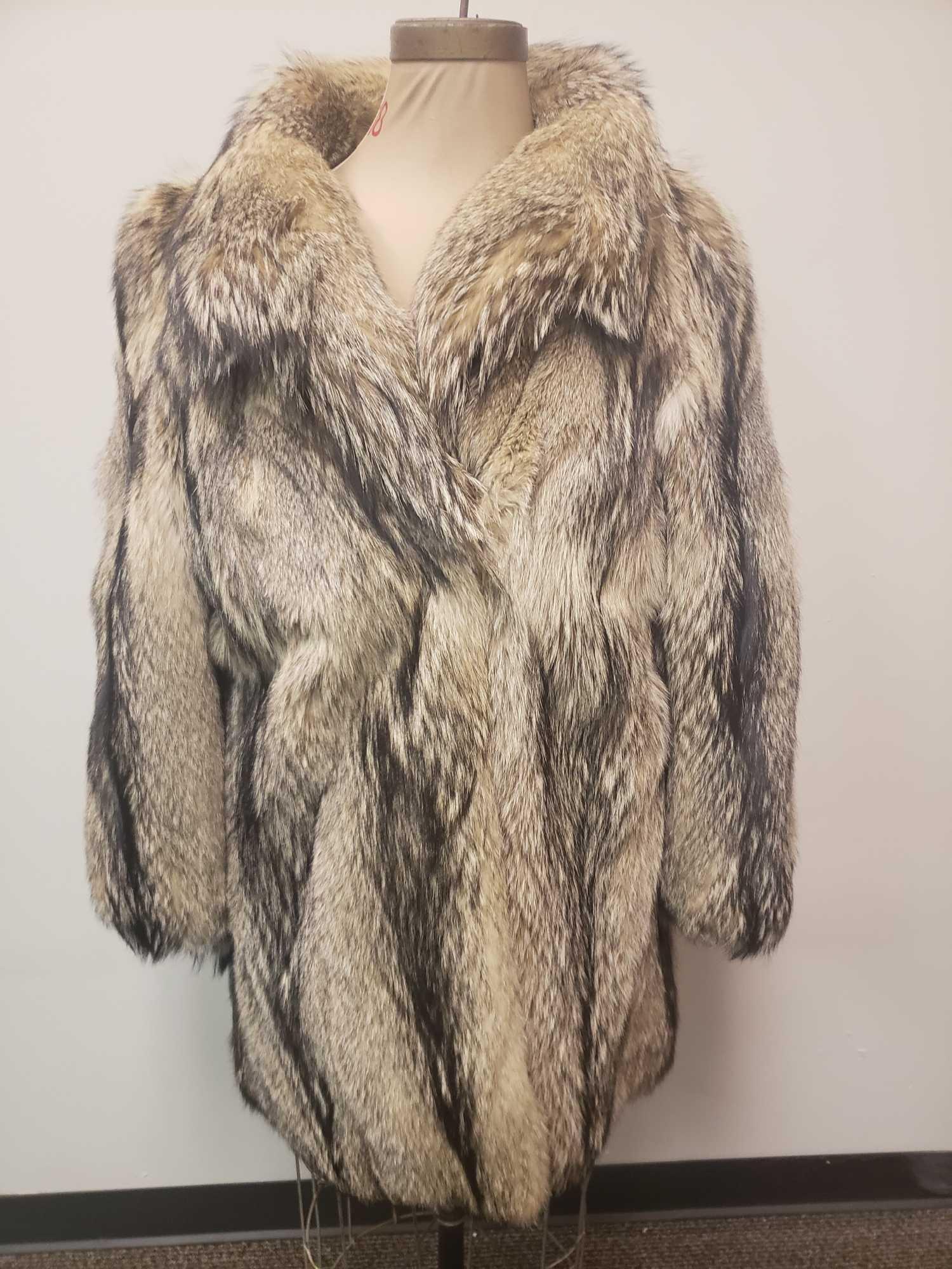 Exclusiv B Modell Fox Fur Coat
