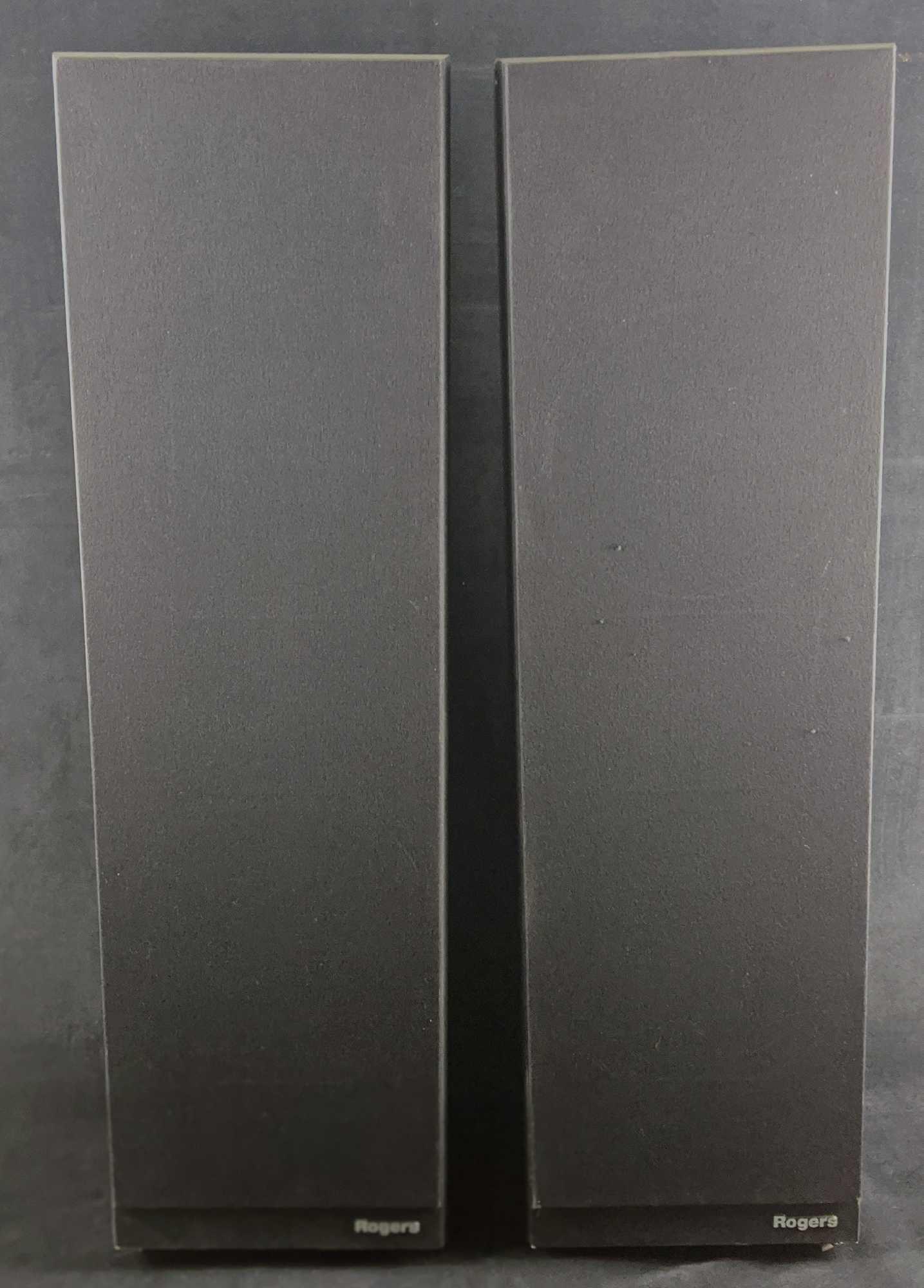 Rogers LS8a Floor Standing Speakers In Black