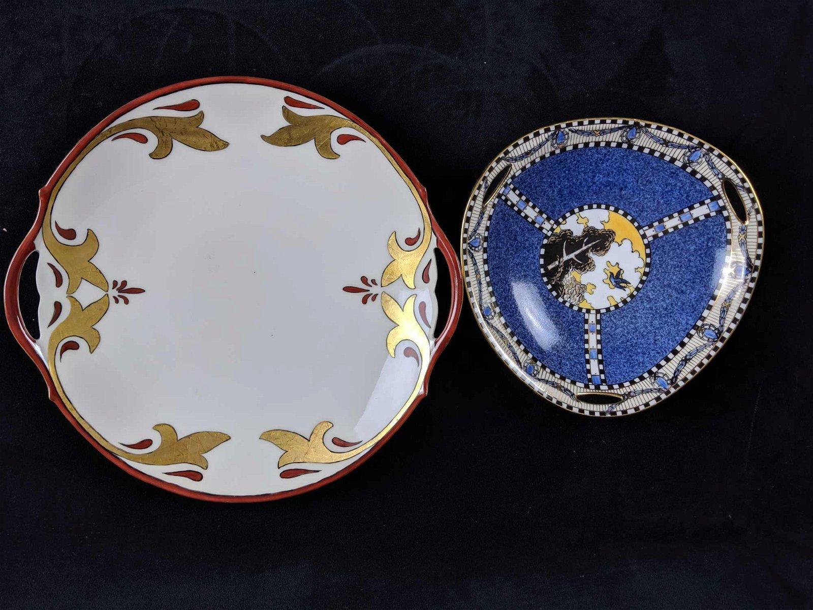 Vintage Porcelain Plates lot of 2
