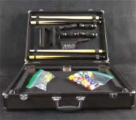Sharper Image Executive Table Top Pool Table