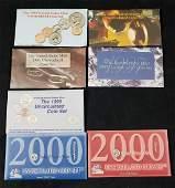 1994 1995 1996 1997 1998 2000 United States Mint