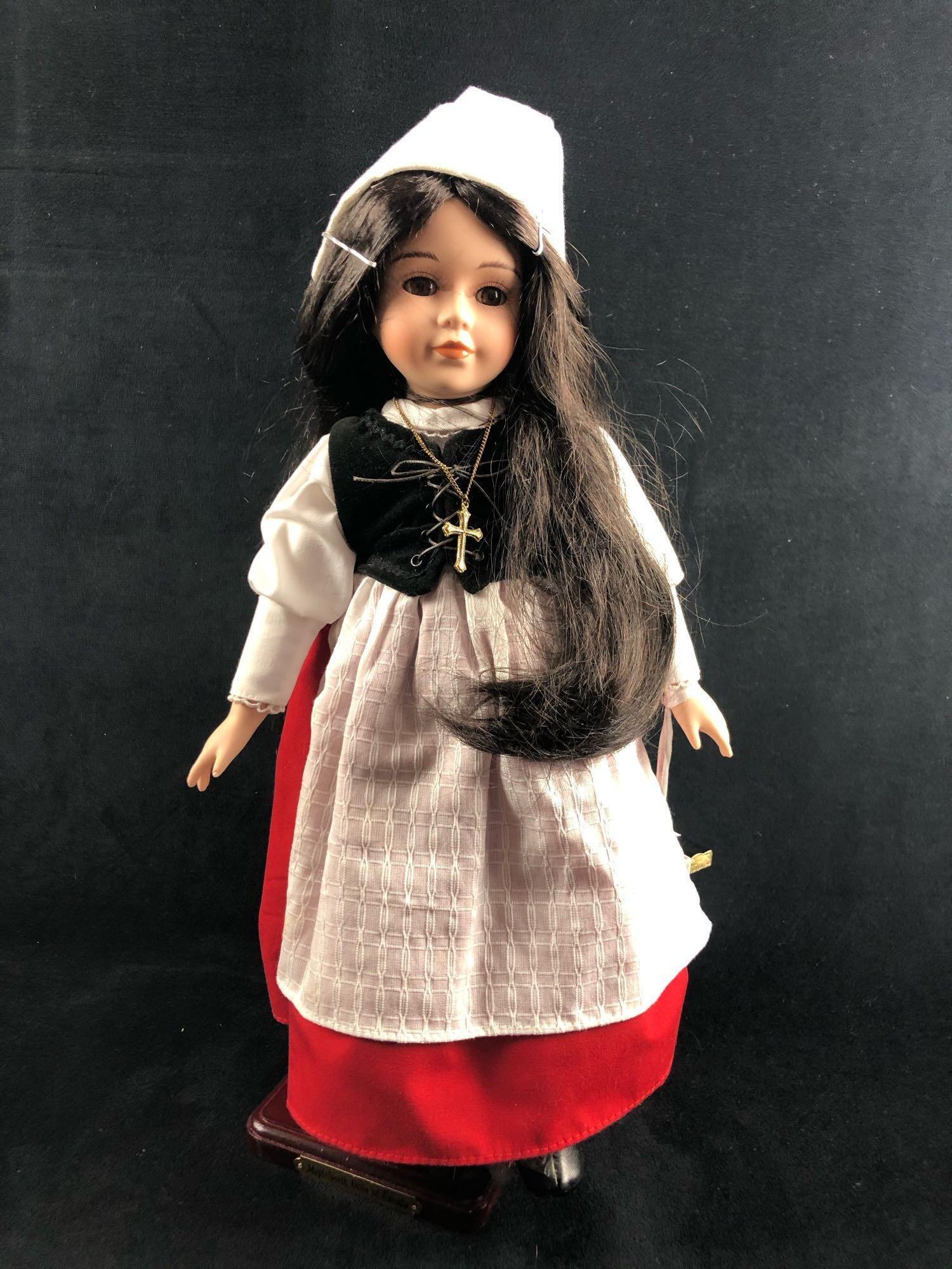 Vintage Porcelain MapleNorth Dolls Evangeline