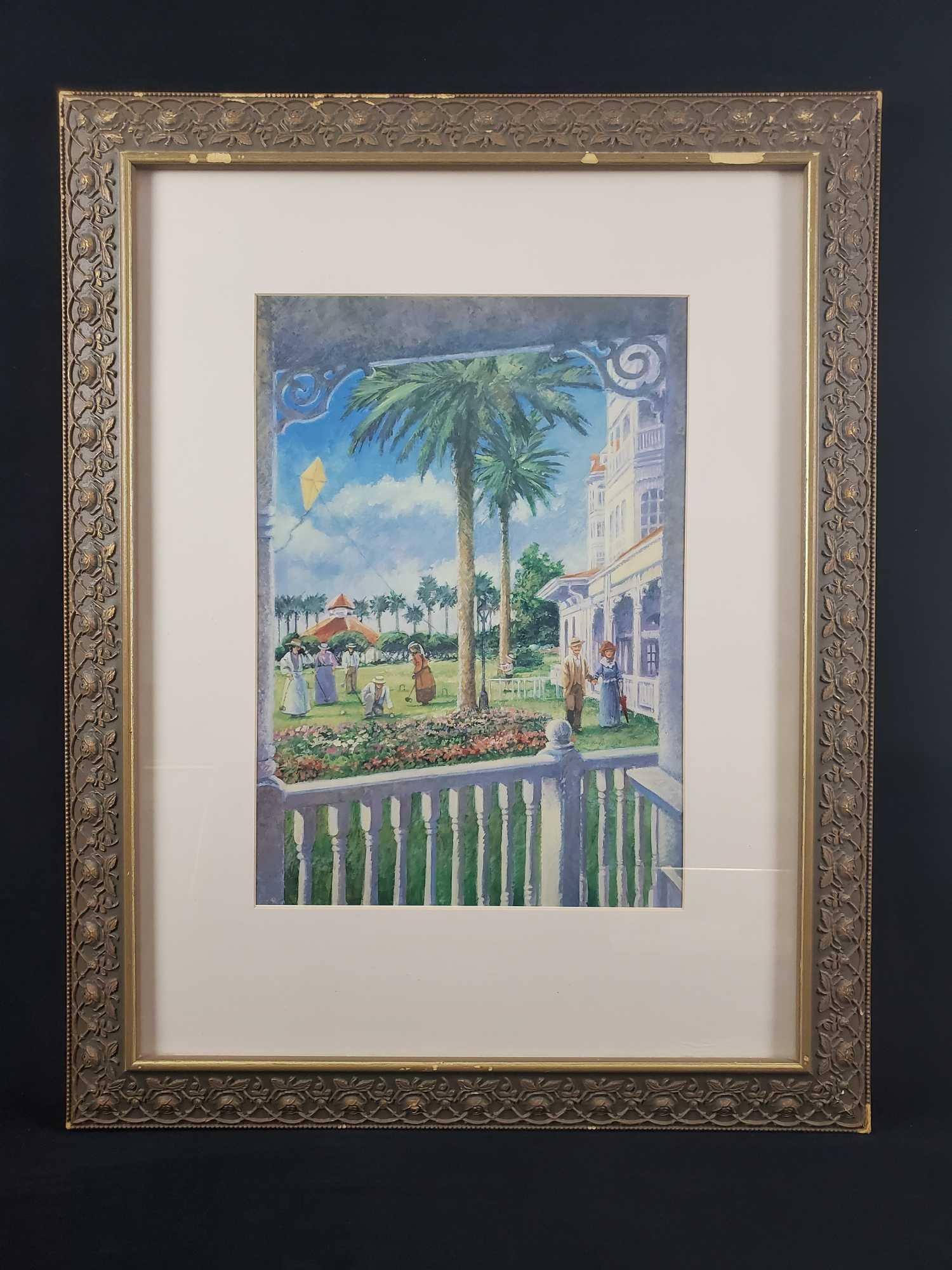 Framed Art Disney Grand Floridian Hotel A