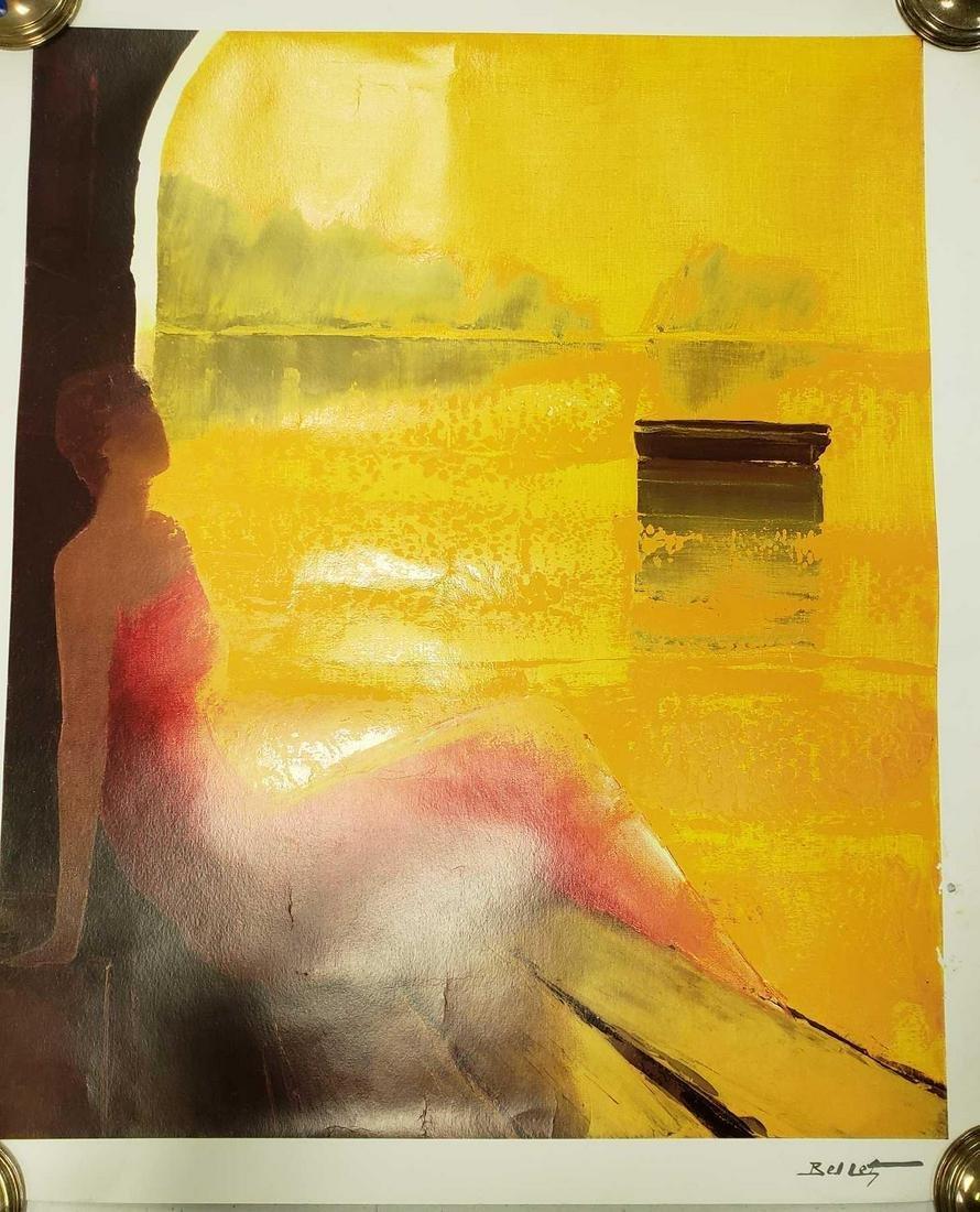 D'or et de Reve by Emile Bellet Poster