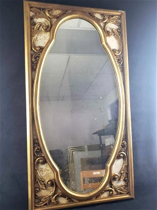 For Auction Gold Framed Ornate Mirror 0983 On Sep 09 2020 Rapid Estate Liquidators And Auction Gallery In Fl