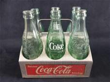 Vintage Vintage CocaCola 6 Pack Bottle Carrier Crate
