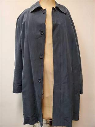 London Fog Classic Navy Mens Trench Size L