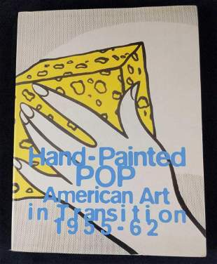 Hand Painted POP American Art In Transition