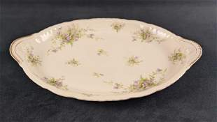 Vintage Fine China Haviland Limoges Platter French