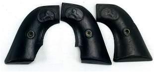3 Antique Colt 45 SAA Bakelite No Eagle Grip