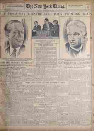 Vintage Bound New York Times Newspaper Nov 16 To 30