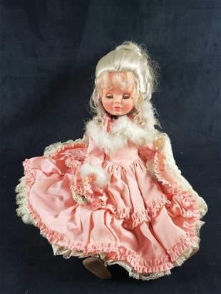 Furga Italian Blonde Doll in Pink Dress