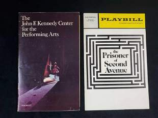 Vintage 1970s Playbill And Stagebill Magazine Lot Of