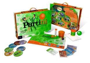Partini Modern Party Games Parker Brothers Hasbro 4