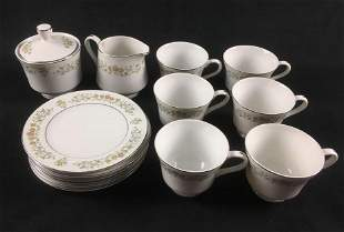 Petit Fleur by Rose Fine China Dinnerware