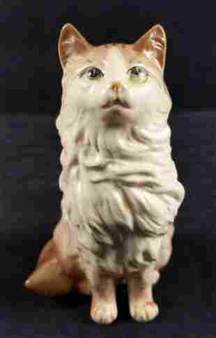 Vintage Yoko Boeki Hand Painted Porcelain Cat Japan