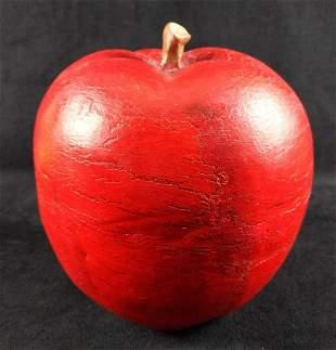 Large Ceramic Apple Decor Kitchen Figurine