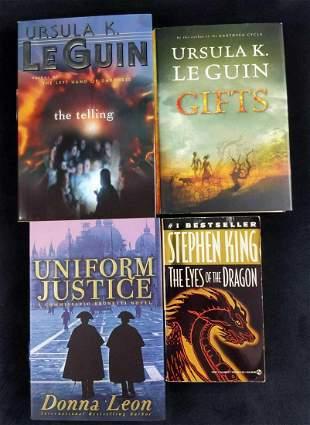 Fantasty Adventure Stephen King Le Guin Lot Of 4