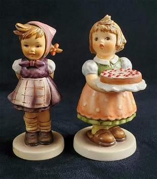 Hummel Figurine Birthday Candle And Which Hand