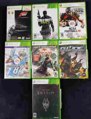XBOX 360 Video Game Lot Of 7 Sports RPG Horror