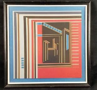 Guy R Watson Matboard Abstract