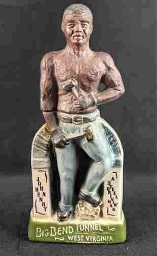 Vintage Jim Beam The Legend Of John Henry Decanter