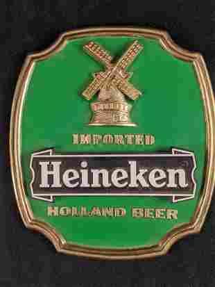 Heineken Holland Beer Sign With Stand A