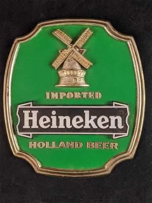 Heineken Holland Beer Sign With Stand B
