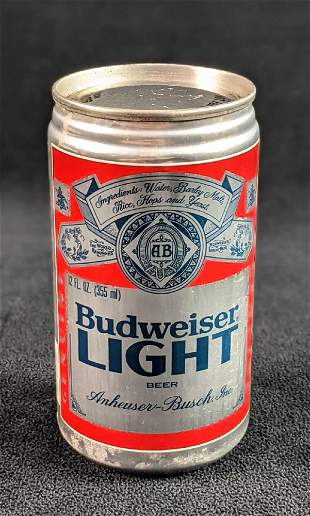 Collectible Budweiser Light Beer Can First Edition 1981